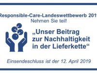 Jetzt teilnehmen! Responsible-Care-Landeswettbewerb Bayern 2019