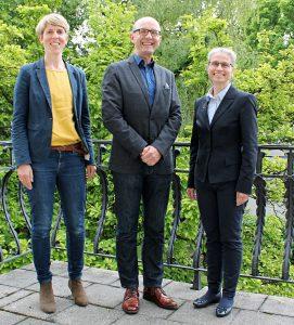 Bayerische Landesjury kürte den Sieger des Responsible-Care Wettbewerbs 2019. v.l.n.r.: Verena Jörg, Alfres Mayr, Dr. Dina Barbian